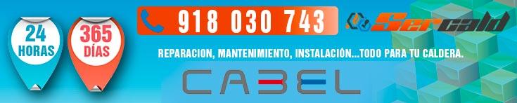 reparación de Calderas Cabel en Madrid