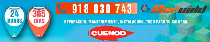 reparación de quemadores Cuenod en Madrid