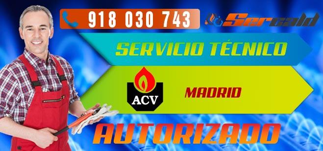 Servicio Técnico Calderas ACV en Madrid