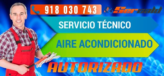 servicio técnico aire acondicionado en Madrid