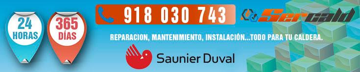 reparación de calderas Saunier Duval en Majadahonda